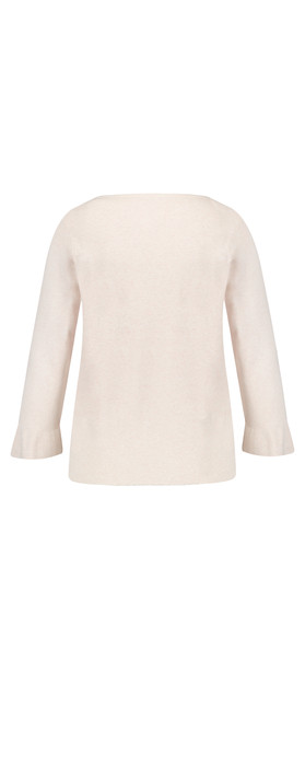 Gerry Weber Fitted Jumper Pearl