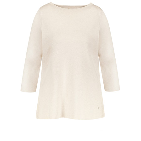 Gerry Weber Shirt Panel Jumper - White