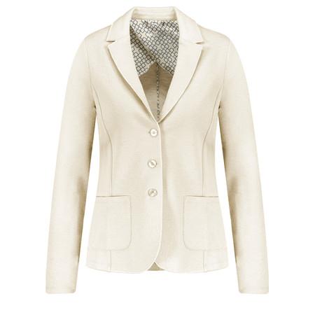 Gerry Weber Textured Blazer - White