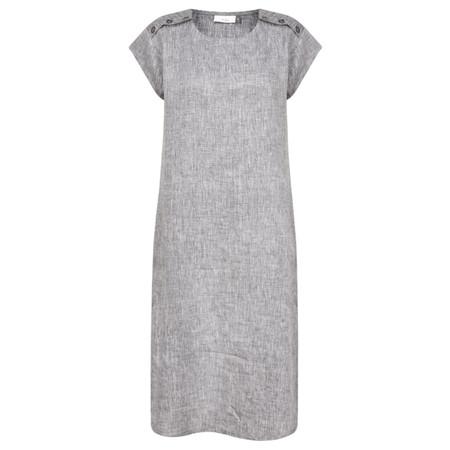 Adini Ciara Linen Dress - Blue