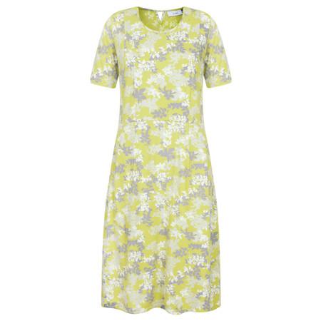 Adini Laurel Print Dress - Yellow