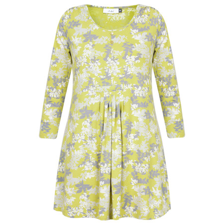 Adini Laurel Print Ivy Tunic - Yellow