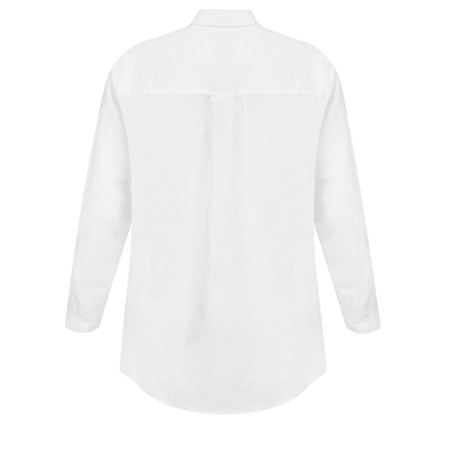 Great Plains Lagos Linen Shirt - White
