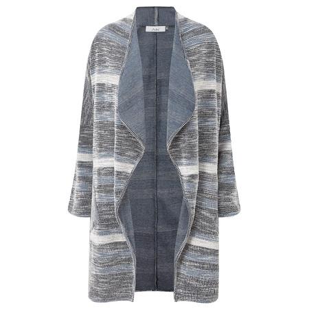 Adini Popolo Weave Lacey Cardigan - Blue