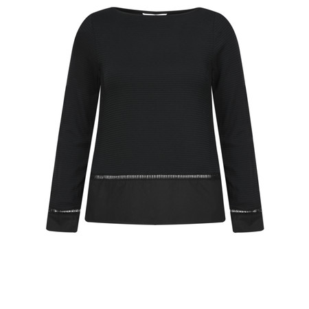 Great Plains Ottilie Top - Black