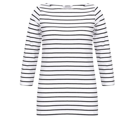 Great Plains Essentials Jersey Top - White
