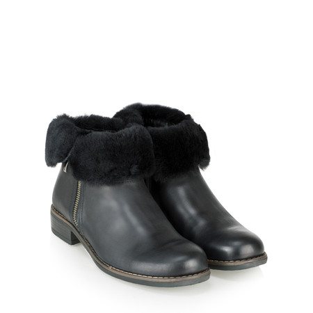 Caprice Footwear Thea Fleece Lined Ankle Boot - Black