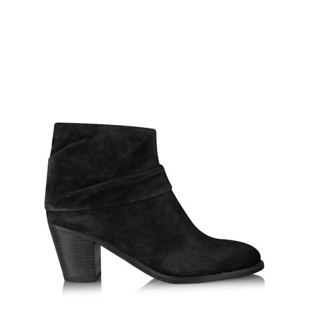 Kennel Und Schmenger Bonnie Suede Ankle Boot - Black