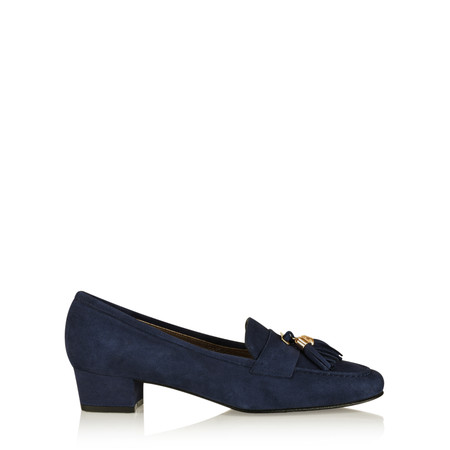 Gemini by GDF Ostruso Suede Tassel Loafer - Blue
