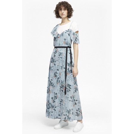 French Connection Kioa Drape Maxi Dress - Blue