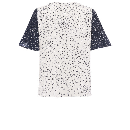 French Connection Komo Crepe Top - Blue