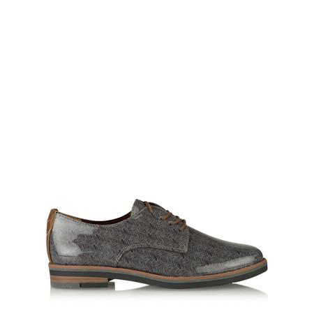 Marco Tozzi Agata Patent Lace Up Shoe - Blue