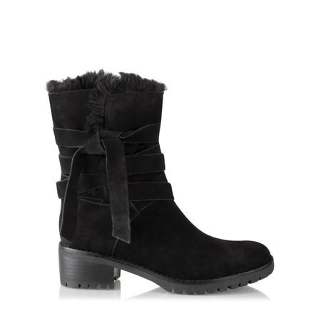 Vanilla Moon Shoes Ambra Fur Lined Boot - Black
