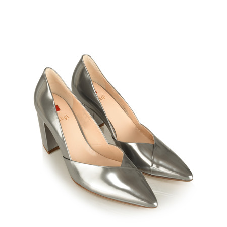 Hogl Lara Metallic Court Shoe - Metallic