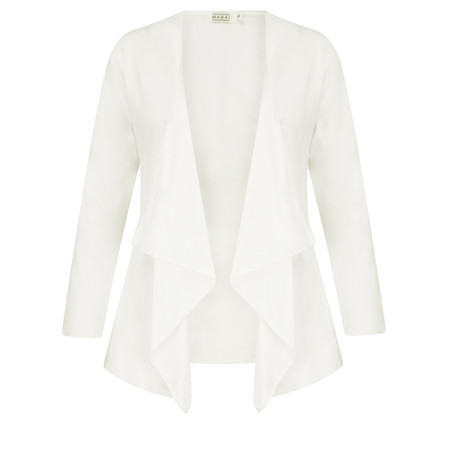 Masai Clothing Itally Cardigan  - White