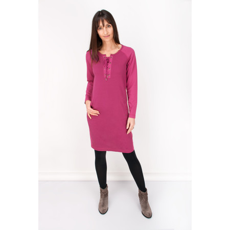 Sandwich Clothing Brushed Jersey Dress - Pink