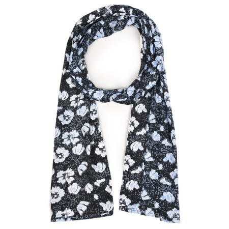 Masai Clothing Along Scarf Floral Bluebell  - Blue