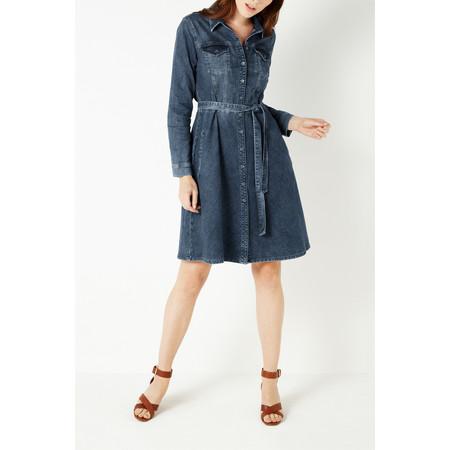 Sandwich Clothing Denim Stretch Dress - Blue