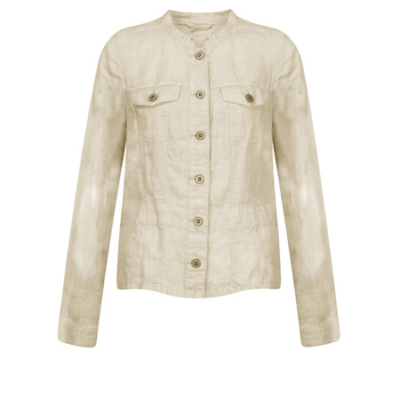 Sandwich Clothing Linen Jacket - Beige
