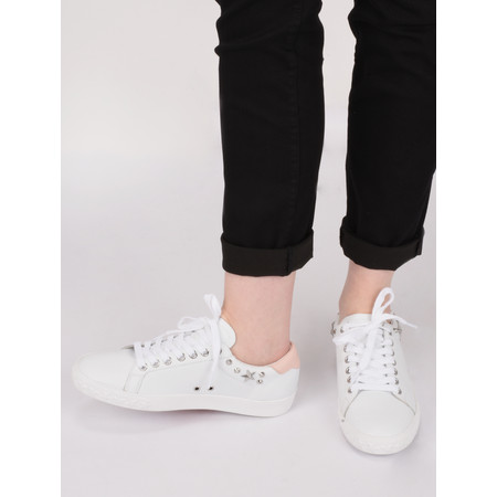 Ash Dazed Trainer Shoe - White