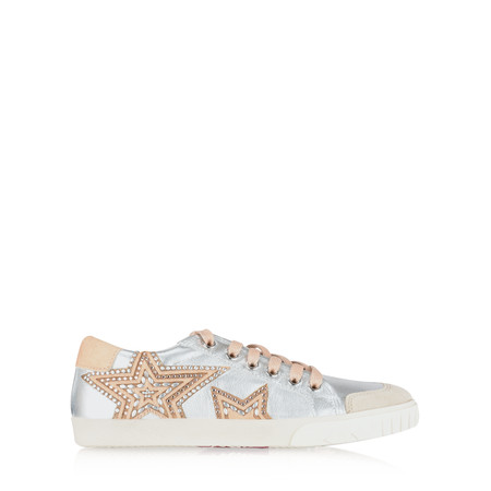 Ash Magic Star Trainer Shoe - Silver