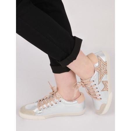 Ash Magic Star Trainer Shoe - Silver
