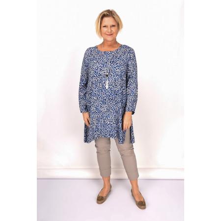 Masai Clothing Gwen Tunic - Blue