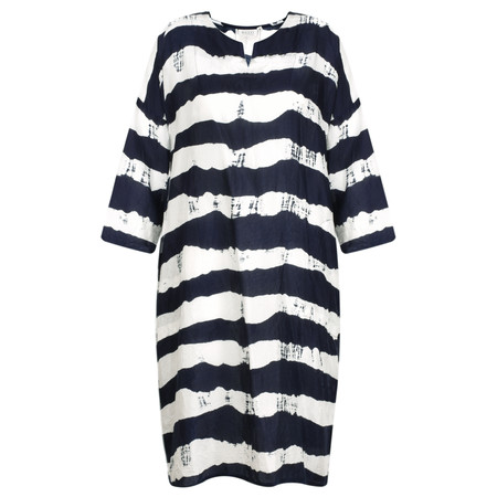 Masai Clothing Nelsa Dress - Blue