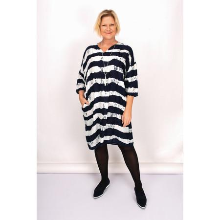 Masai Clothing Nelsa Dress - Blue