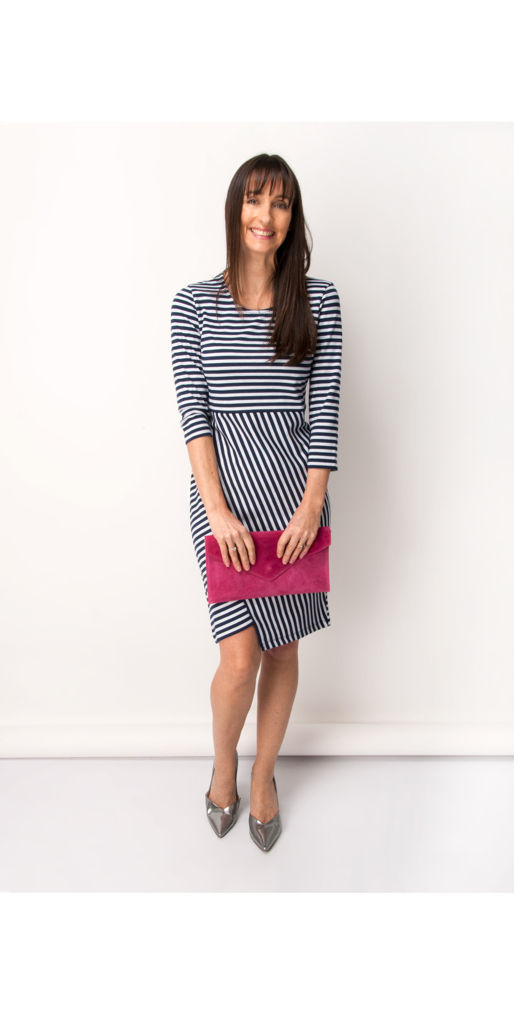 Comfortable Online Dress with nautical stripes blue female Gerry Weber Buy Cheap Original m4w5SsNUdb