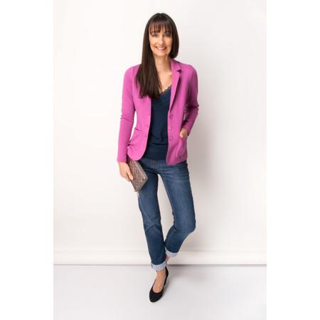 Gerry Weber Textured Blazer - Pink