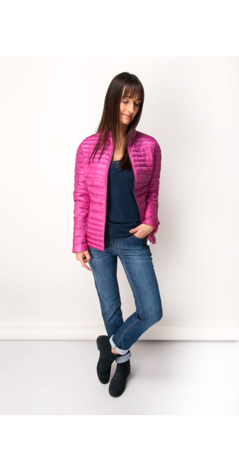 Gerry Weber Quilted Jacket, Peony