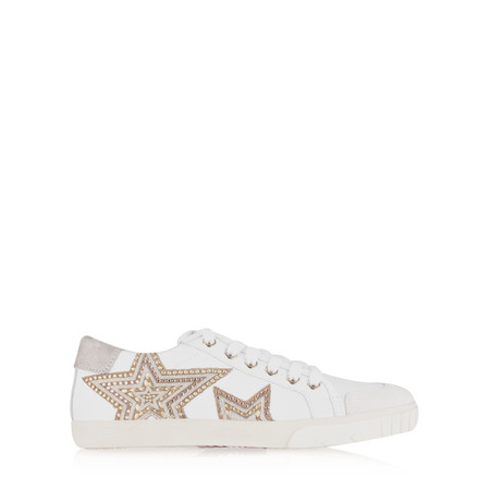 Ash Magic Star Trainer Shoe - White