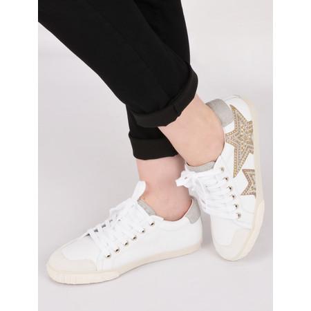 Ash Magic Star Trainer Shoe - White