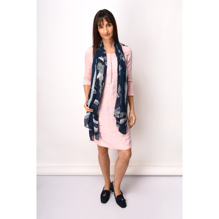 Sandwich Clothing Linen Woven Dress - Beige