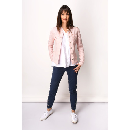 Sandwich Clothing Linen Jacket - Pink