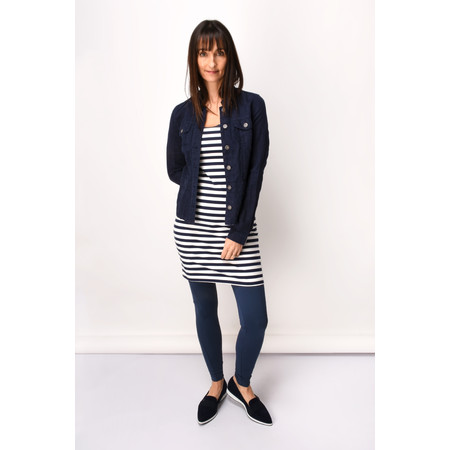 Sandwich Clothing Essentials Stripe Sleeveless Top - Blue