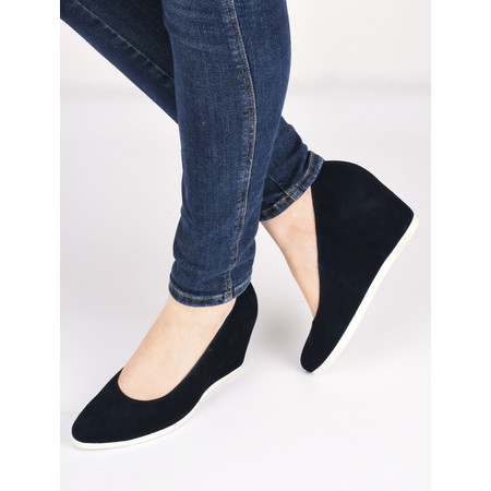 Hogl Pia Wedge Shoe - Blue