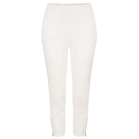 Masai Clothing Padme Capri Trousers - White