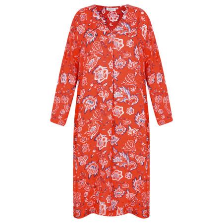 Masai Clothing Floral Neba Dress - Pink