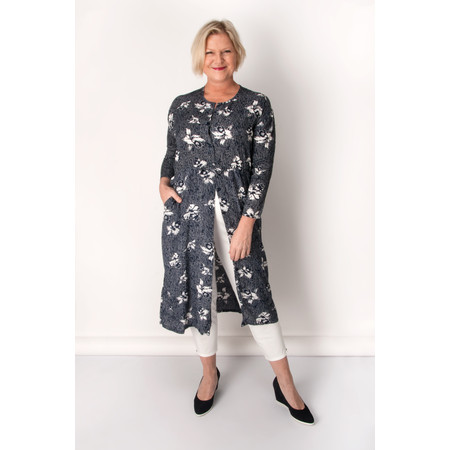 Masai Clothing Italia Shirt-Dress - Blue
