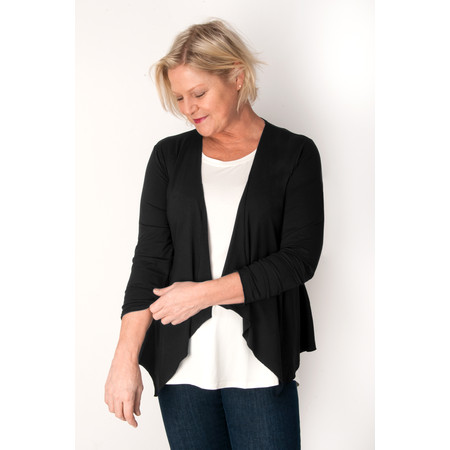 Masai Clothing Itally Cardigan  - Black
