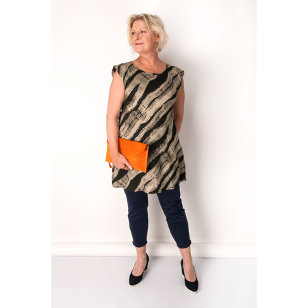 Masai Clothing Padme Capri Trousers - Blue