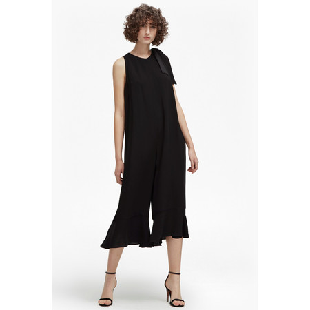 French Connection Hiva Crepe Jumpsuit - Red
