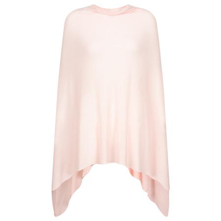 Sandwich Clothing Thin Knit Poncho - Pink