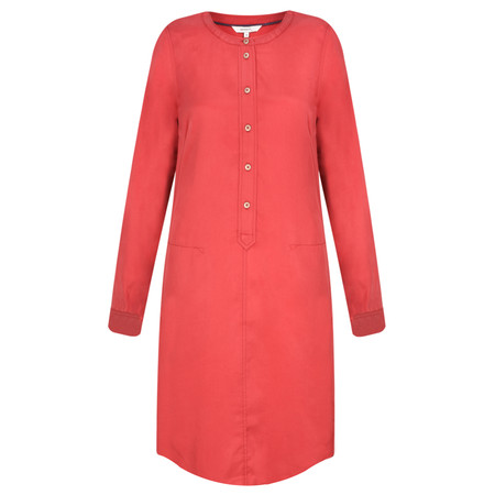 Sandwich Clothing Flowy Tencel Dress - Red