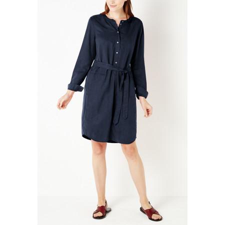 Sandwich Clothing Flowy Tencel Dress - Blue