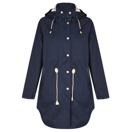 Sandwich Clothing Long Parker Jacket - Blue