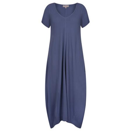 Sahara Crepe Bubble Dress - Blue