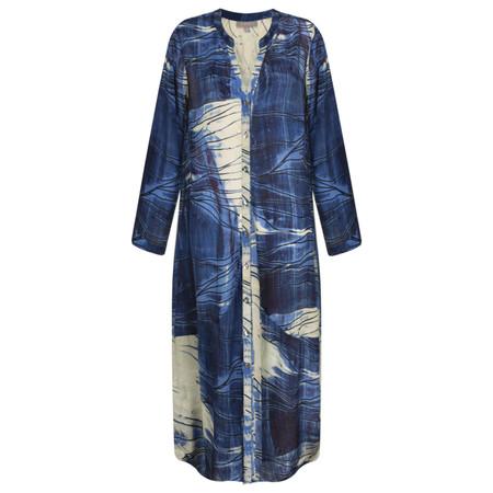 Sahara Muso Print Shirt Dress - Multicoloured